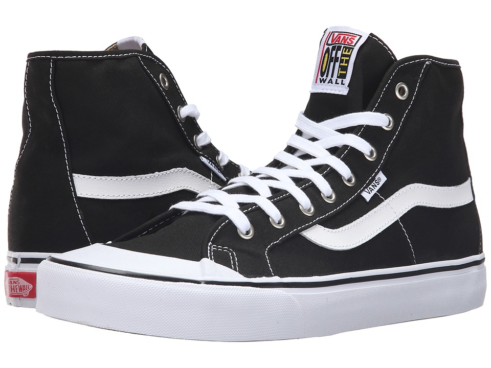 Vans - Black Ball Hi SF (Black/True White) Men's Shoes