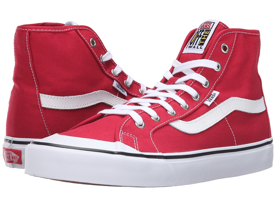 Vans - Black Ball Hi SF (Crimson) Men's Shoes