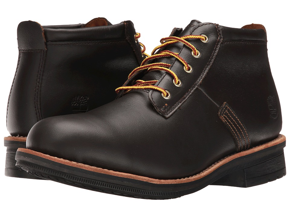 Timberland - Willoughby Waterproof Chukka (Dark Brown Full Grain) Men's Lace-up Boots