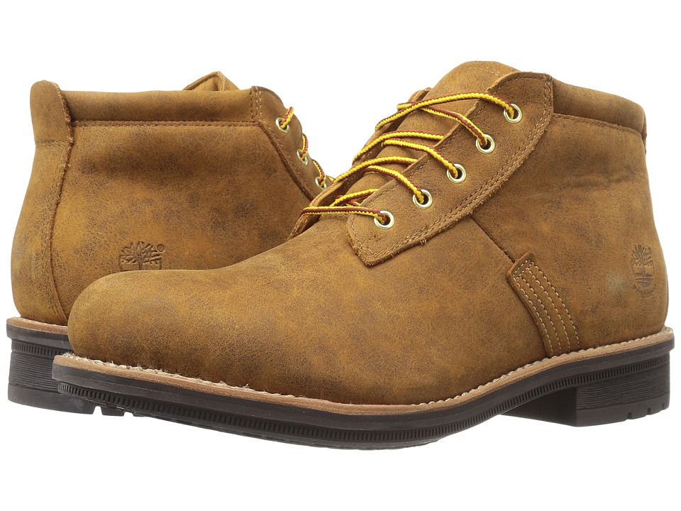 Timberland - Willoughby Waterproof Chukka (Wheat Full Grain) Men's Lace-up Boots