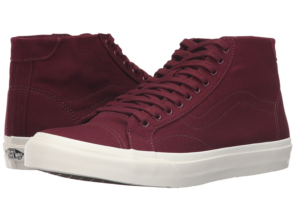 Vans - Court Mid ((Canvas) Port Royale) Men's Skate Shoes
