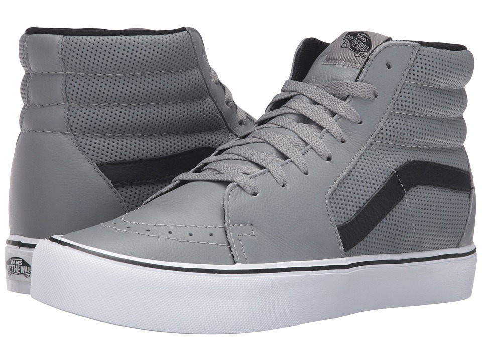 Vans - Sk8-Hi Lite ((Perf) Gray) Men's Skate Shoes