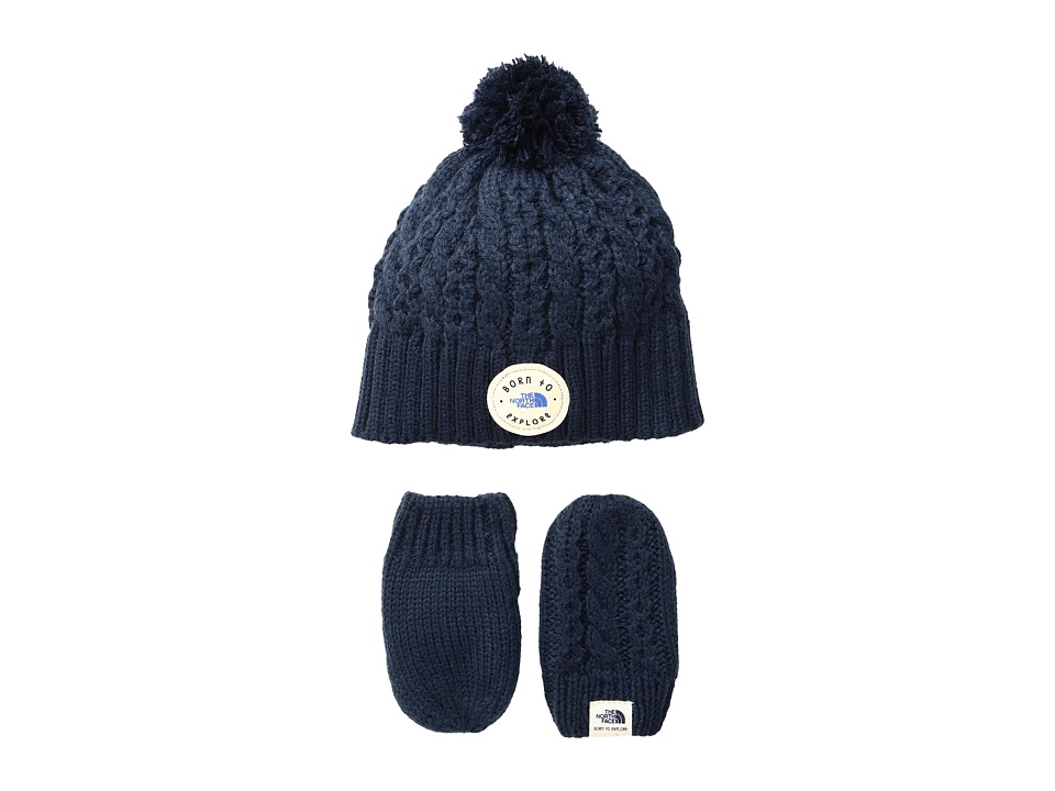 The North Face Kids - Minna Collection (Infant) (Cosmic Blue) Beanies