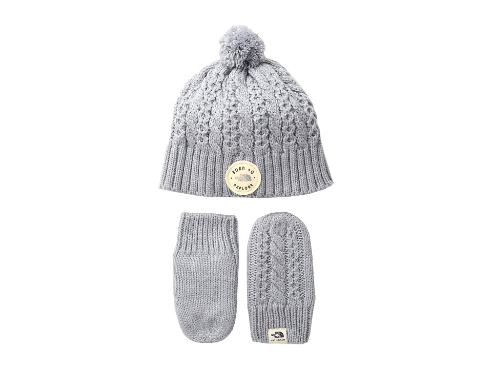 The North Face Kids - Minna Collection (Infant) (TNF Light Grey Heather) Beanies