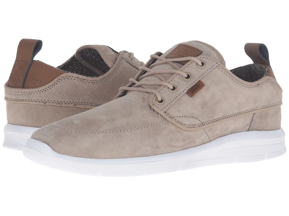Vans - Brigata Lite ((S&L) Silver Mink/White) Men's Skate Shoes