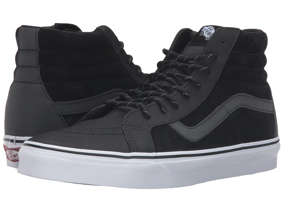 Vans - Sk8-Hi Reissue DX ((Transit Line) Black/Reflective) Men's Skate Shoes