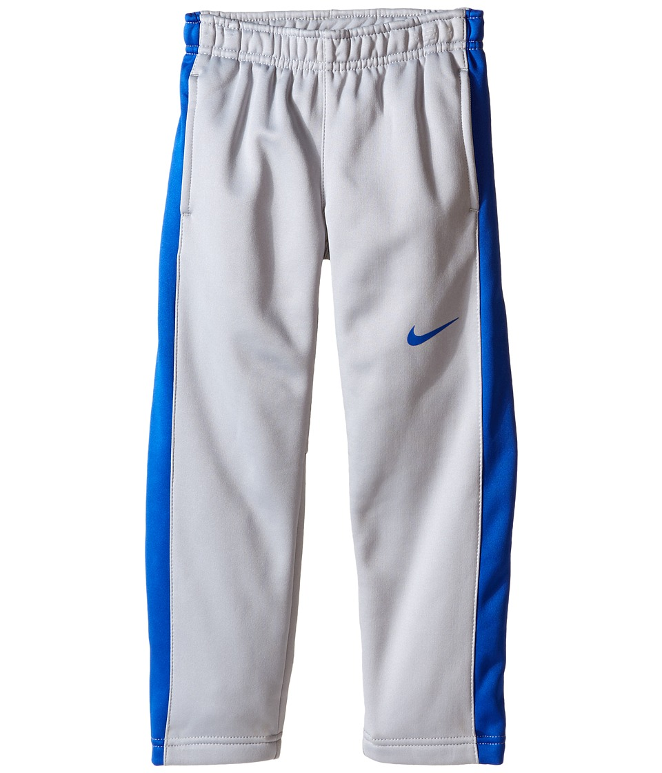Nike Kids - All Over Print KO Fleece Cuff Pants (Little Kids) (Light Grey Heather) Boy's Casual Pants