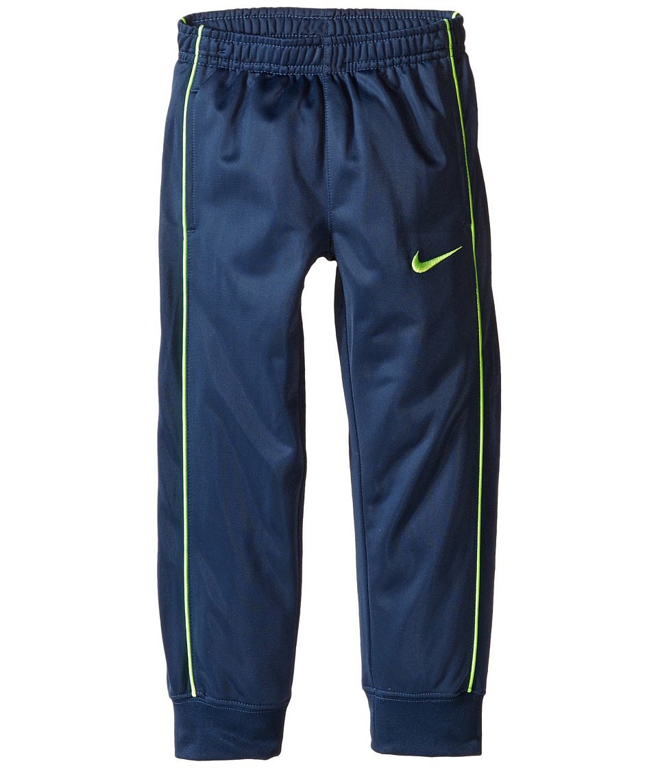 Nike Kids - Tricot Cuff Pants (Little Kids) (Midnight Blue) Boy's Casual Pants