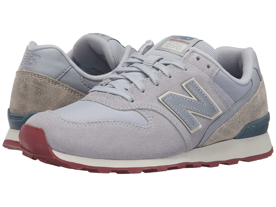 New Balance Classics - WL696v1 (Silver Mink/Powder) Women's Running Shoes