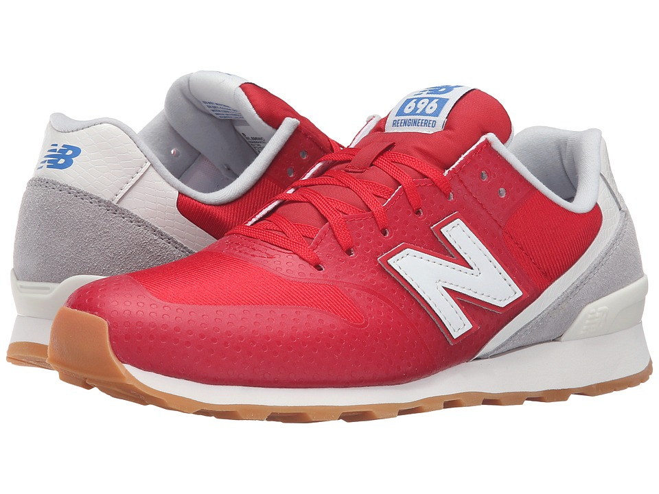 New Balance - W696 (Red/Grey) Women's Classic Shoes