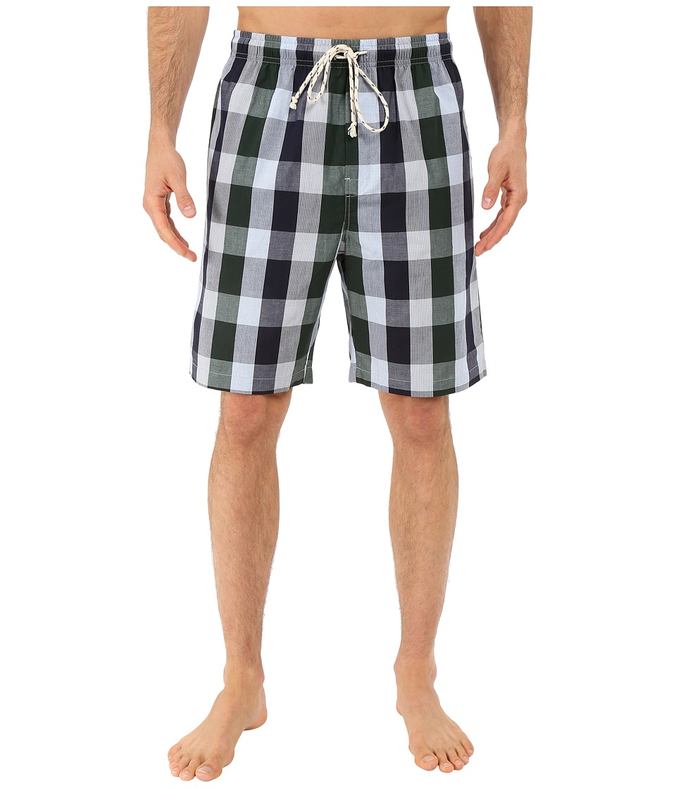 Kenneth Cole Reaction - Woven Jam (Green Box Plaid) Men's Pajama