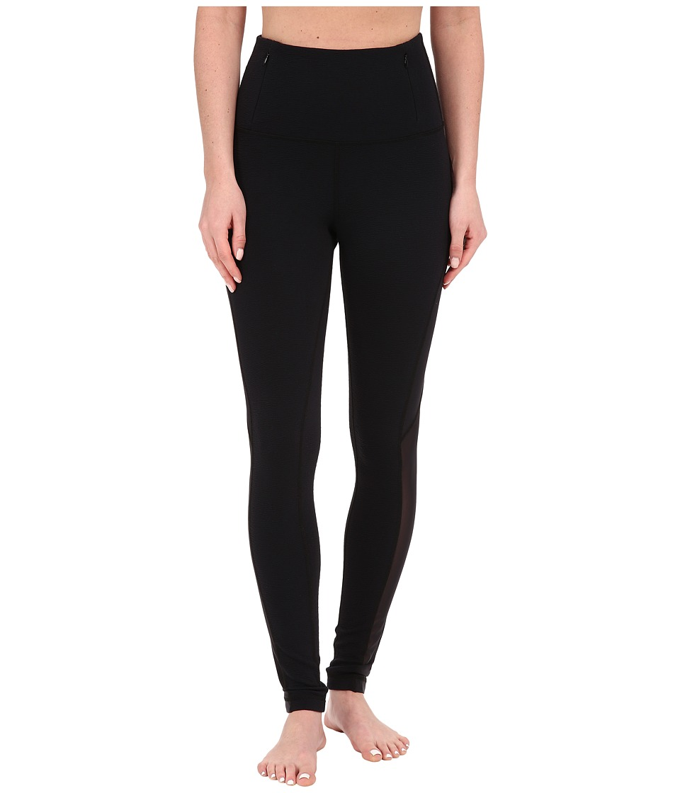 Tonic - Nightingale Leggings (Black/Black Ripple) Women's Casual Pants