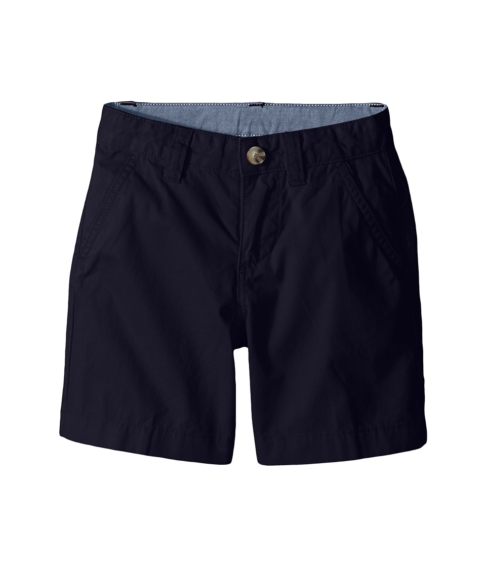 Lacoste Kids - Cotton Gabardine Bermuda Short (Little Kids/Big Kids) (Navy Blue) Boy's Shorts
