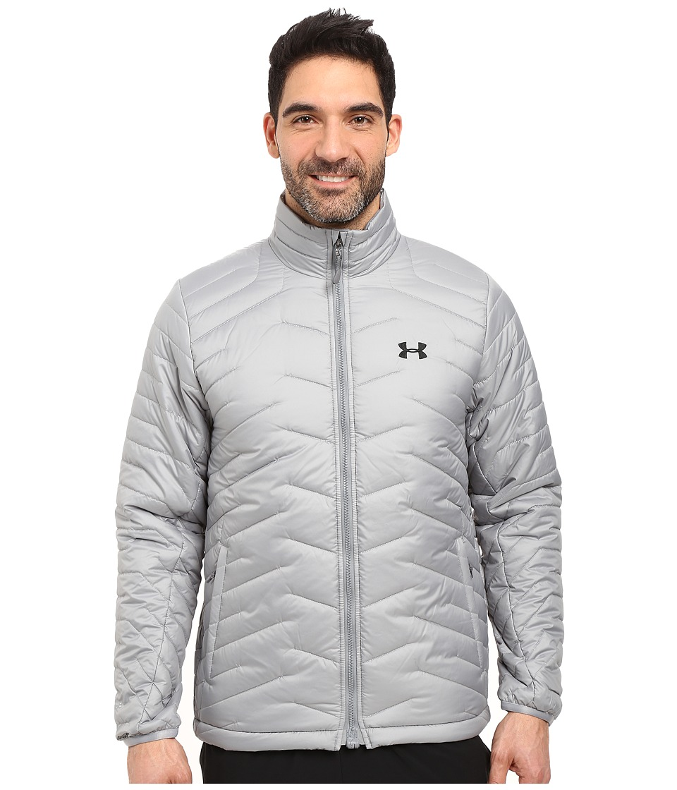 Under Armour - UA ColdGear Jacket (Steel/Black) Men's Coat