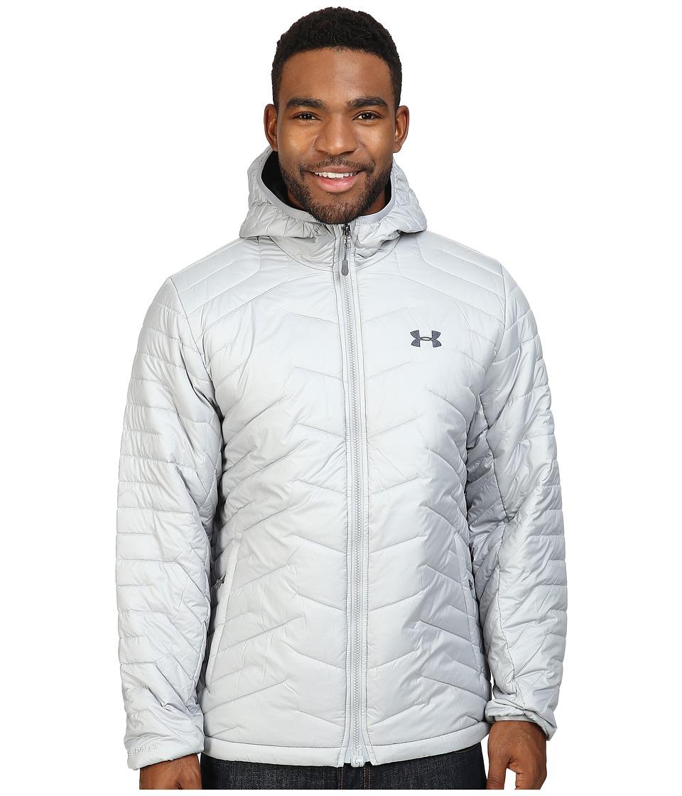Under Armour - UA ColdGear Hooded Jacket (Overcast Gray/Stealth Gray) Men's Coat