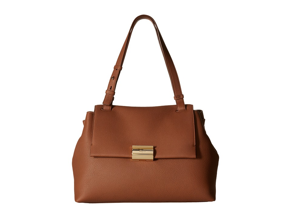 Salvatore Ferragamo - Ginger (Ecorce/Golden Brown) Handbags