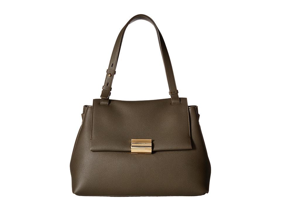 Salvatore Ferragamo - Ginger (Foret/Cacao/Fondente) Handbags