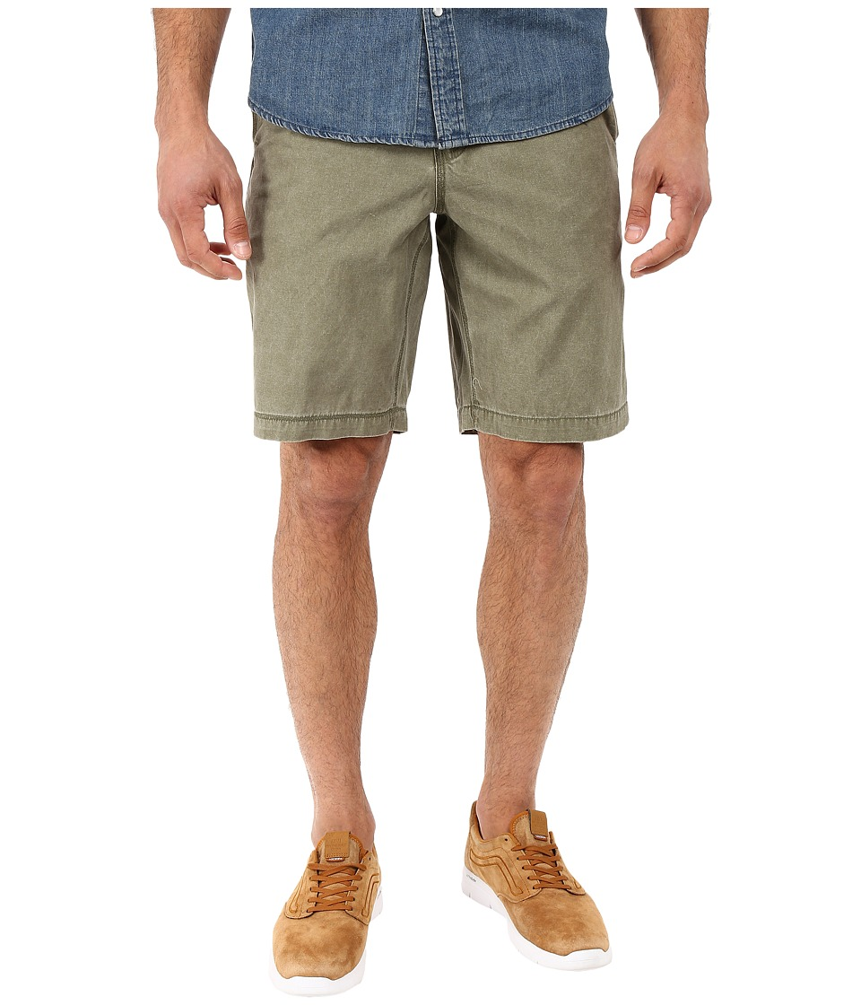 True Grit - Vintage Washed Chino Shorts (Canteen) Men's Shorts