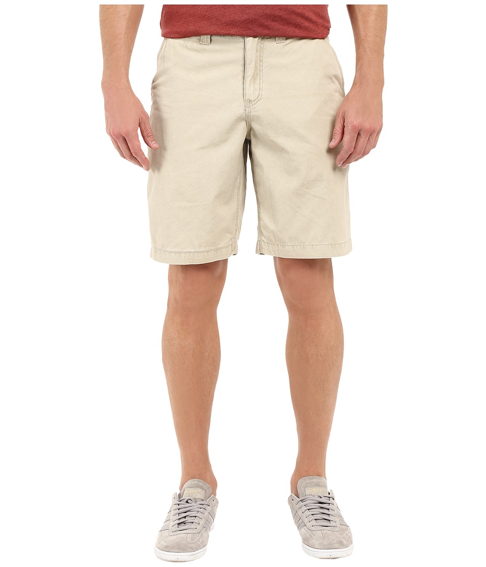True Grit - Vintage Washed Chino Shorts (Stone) Men's Shorts
