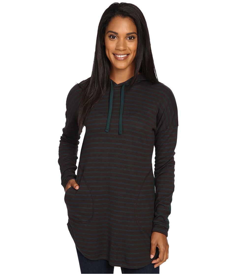Toad&Co - Profundo Hooded Tunic (Buffalo Stripe) Women's Clothing