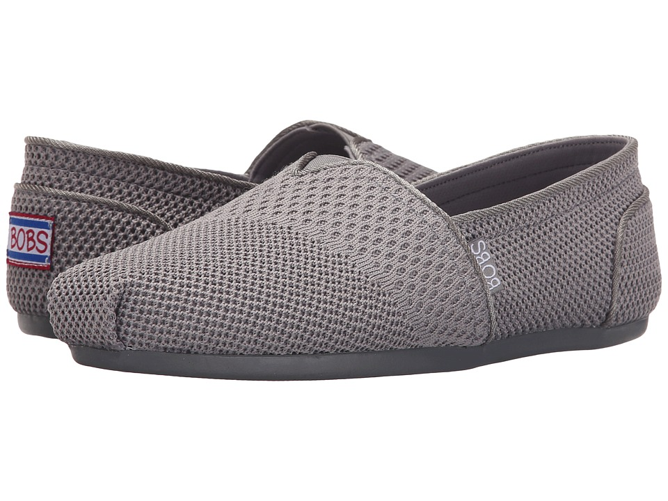 BOBS from SKECHERS Bobs Plush Urban Trails (Gray) Women