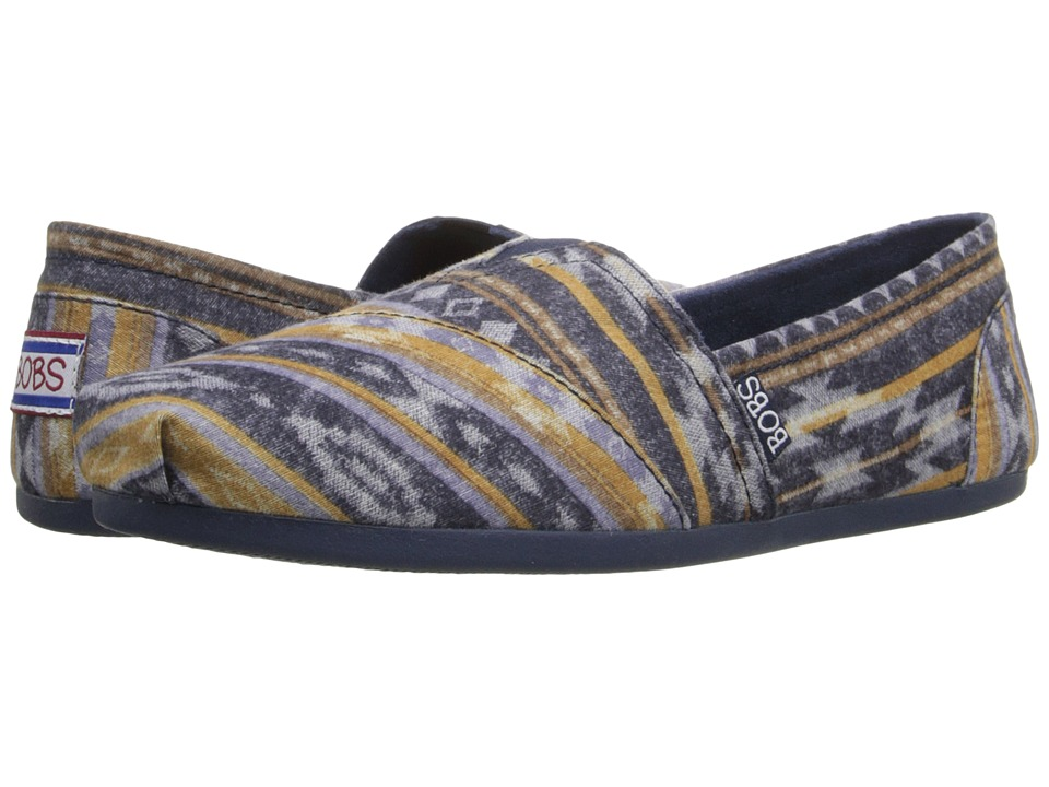 BOBS from SKECHERS Bobs Plush Wonder (Navy) Women