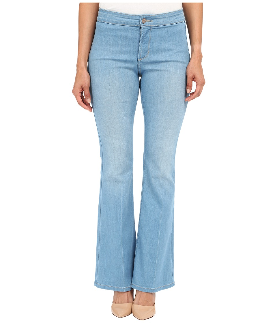 NYDJ Petite - Petite Farrah Flare in Palm Bay Crease (Palm Bay Crease) Women's Jeans