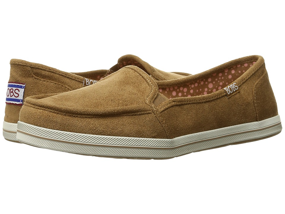 BOBS from SKECHERS - Bobs Flexy - Warm Up (Chestnut) Women's Slip on Shoes