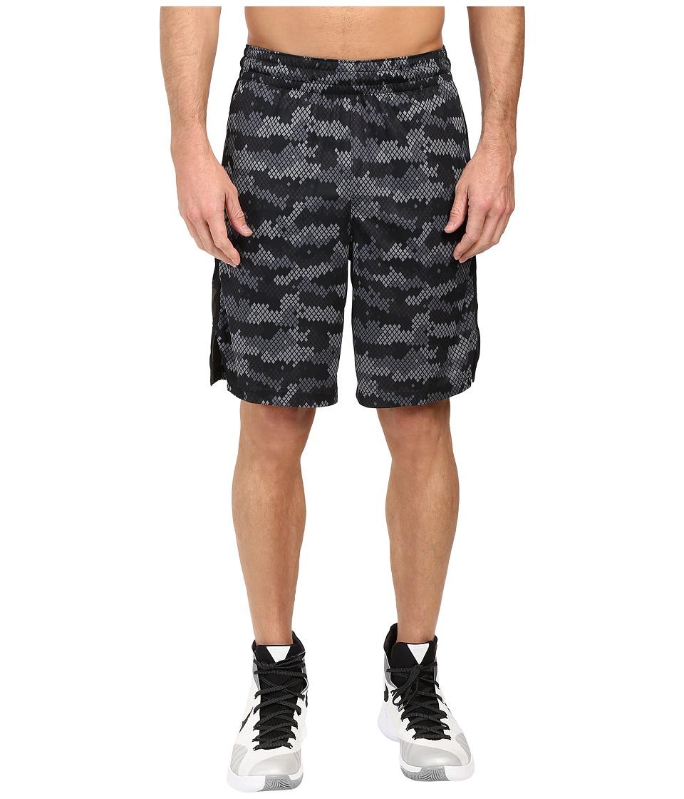 Nike - Elite 9 Basketball Short (Anthracite/Black/Anthracite/Matte Silver) Men's Shorts