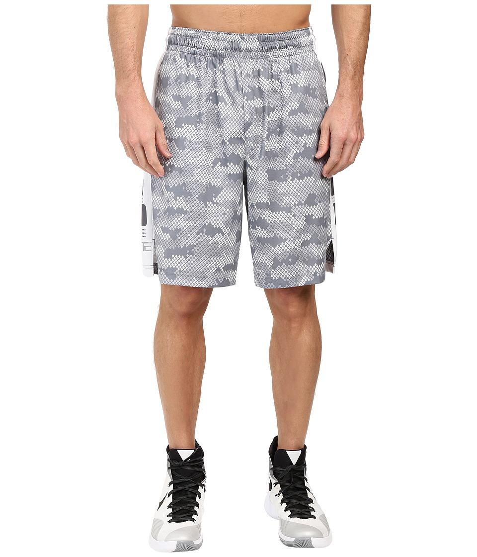 Nike - Elite 9 Basketball Short (Cool Grey/Cool Grey/Matte Silver) Men's Shorts
