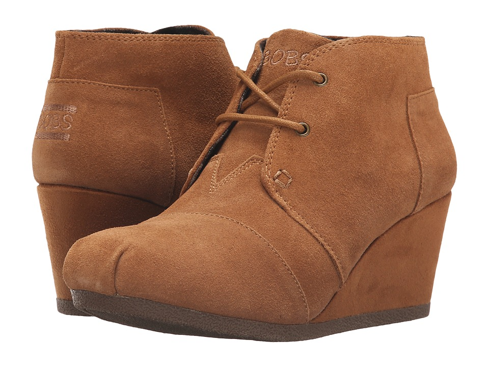 BOBS from SKECHERS - High Notes - Behold (Chestnut) Women's Lace-up Boots