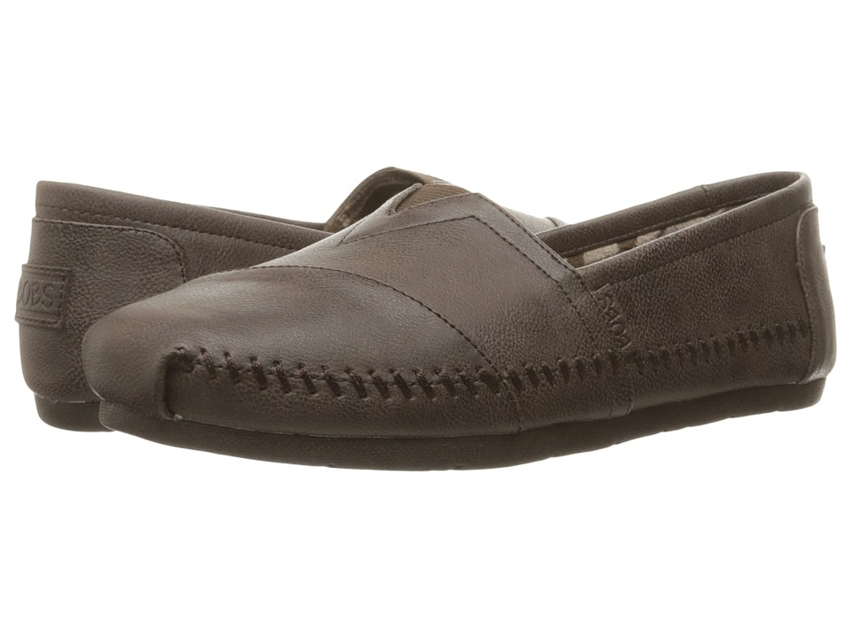 BOBS from SKECHERS Luxe Bobs Blue Skies (Chocolate) Women