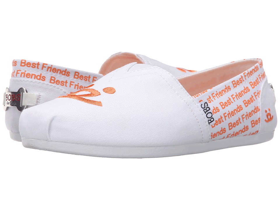BOBS from SKECHERS Bobs Plush Best Friends (White) Women