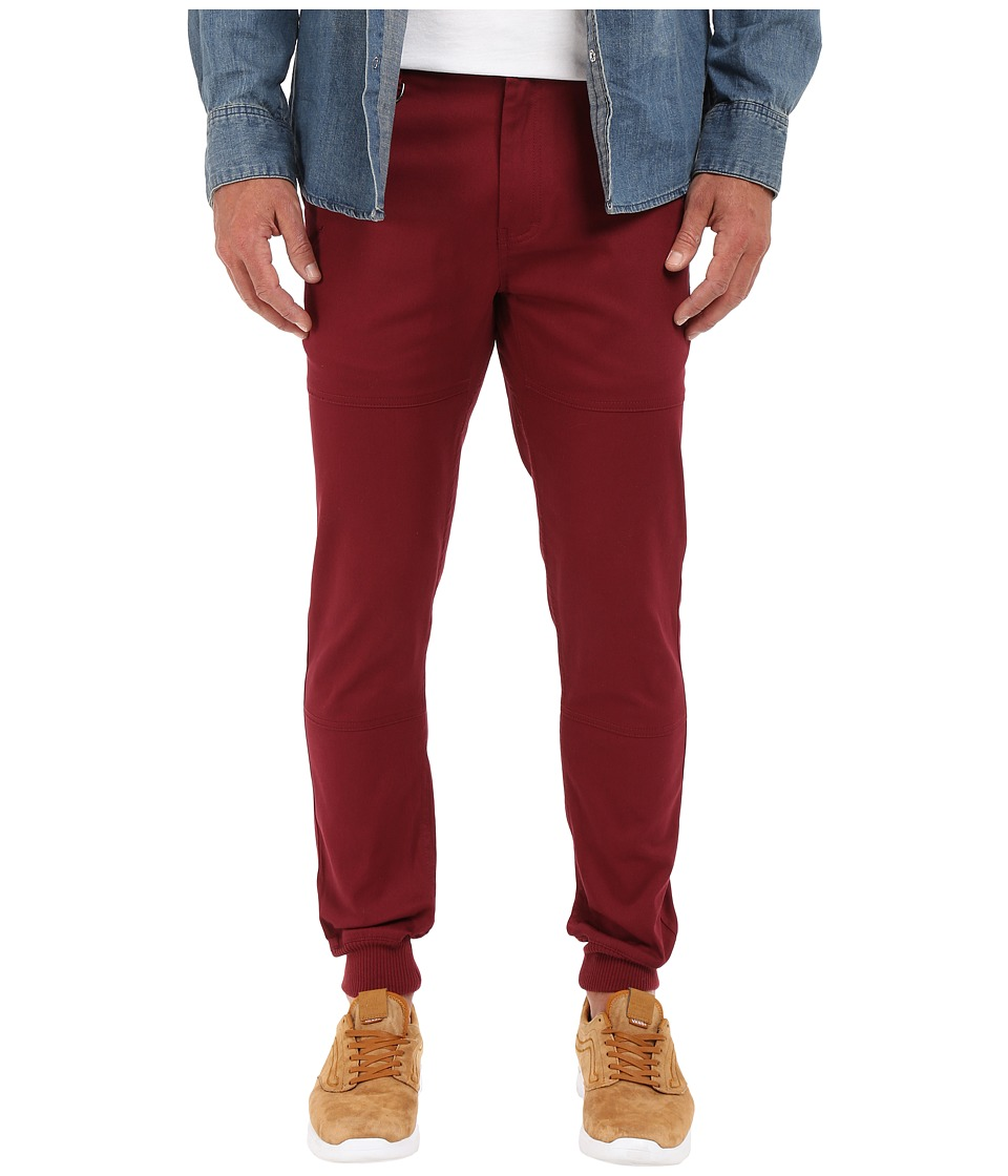 Publish - Legacy Jogger Pant (Maroon) Men's Casual Pants