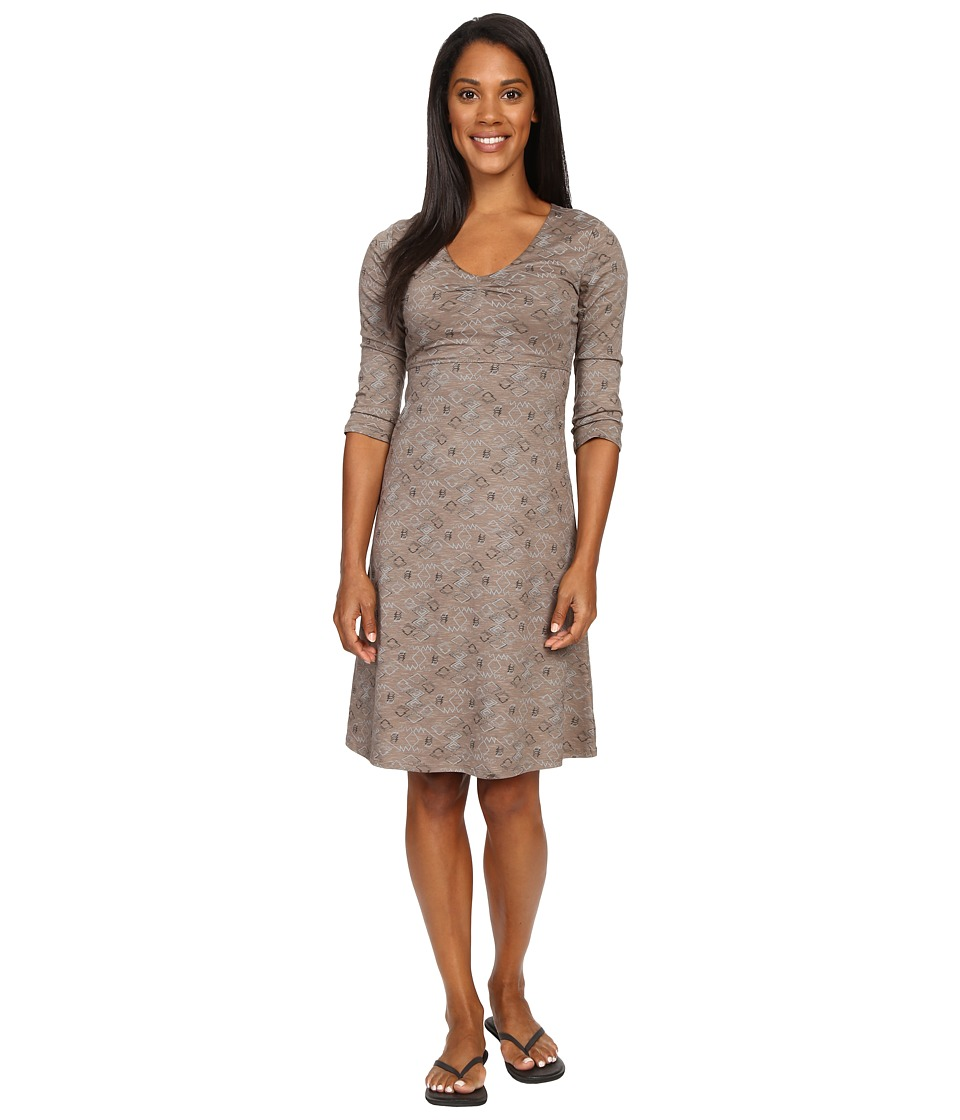 Toad&Co - Rosalinda Dress (Falcon Brown Tribal Print) Women's Dress