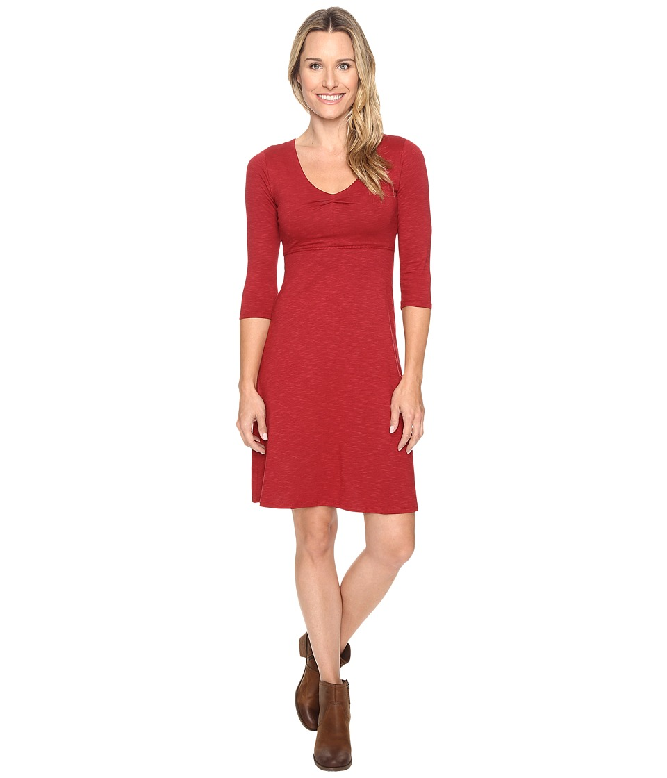 Toad&Co - Rosalinda Dress (House Red) Women's Dress