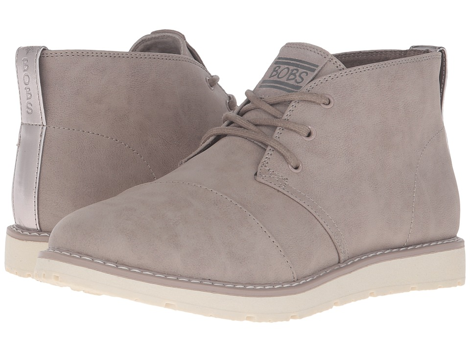 BOBS from SKECHERS - Bobs Alpine (Taupe) Women's Lace-up Boots