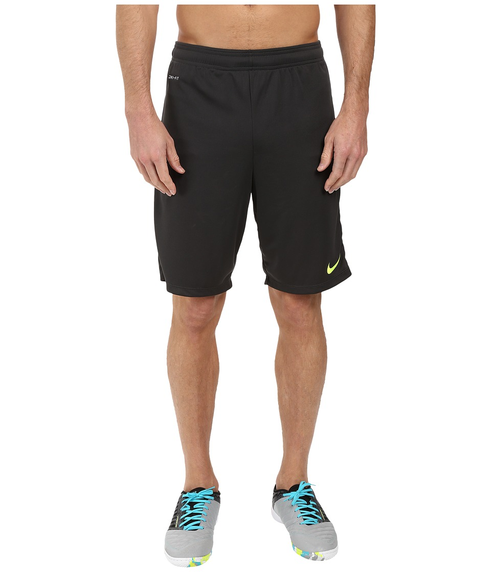 Nike - Academy Longer Knit Short 2 (Anthracite/Volt/Volt) Men's Shorts