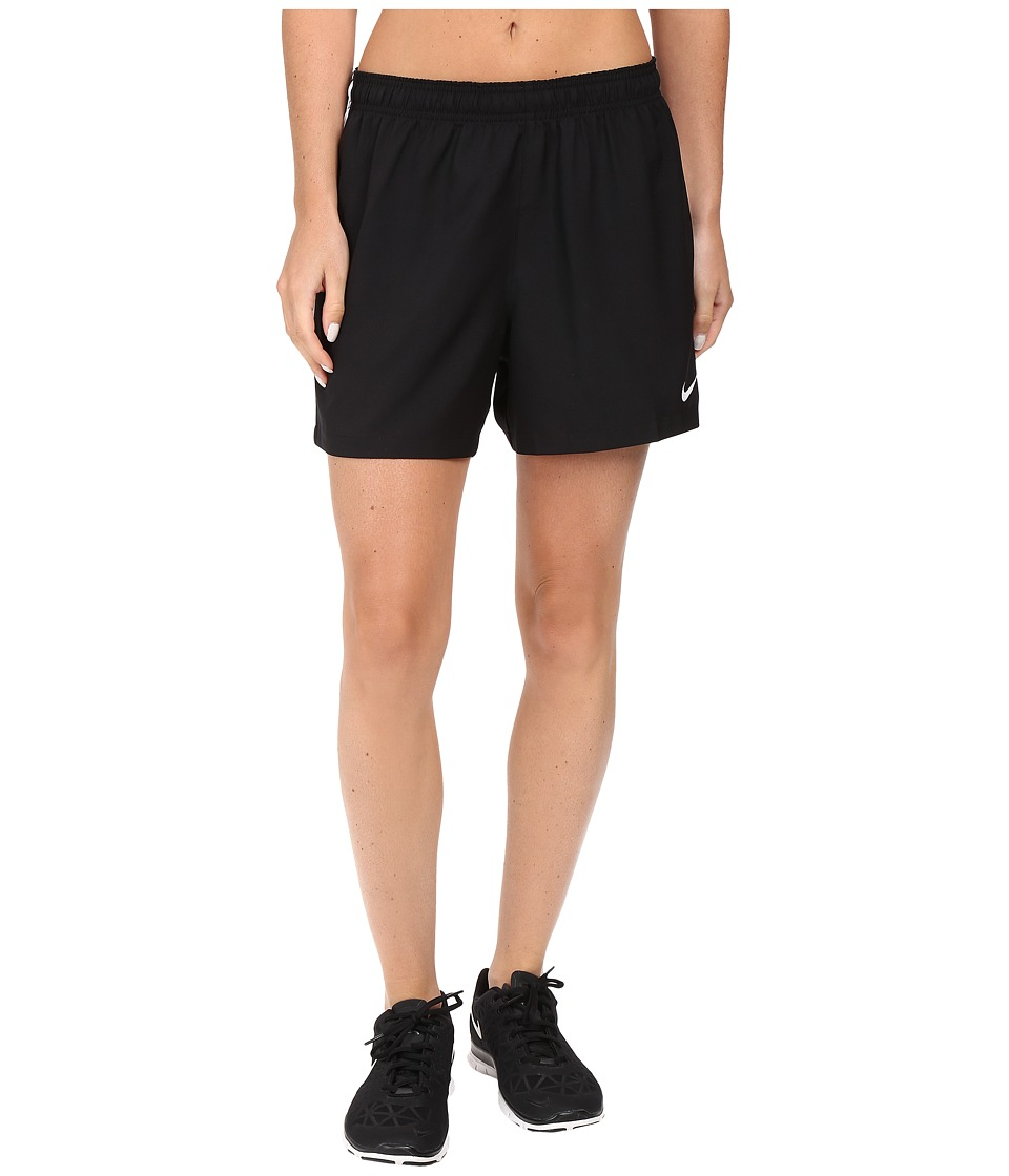 Nike - Dry Soccer Short (Black/White/White) Women's Shorts
