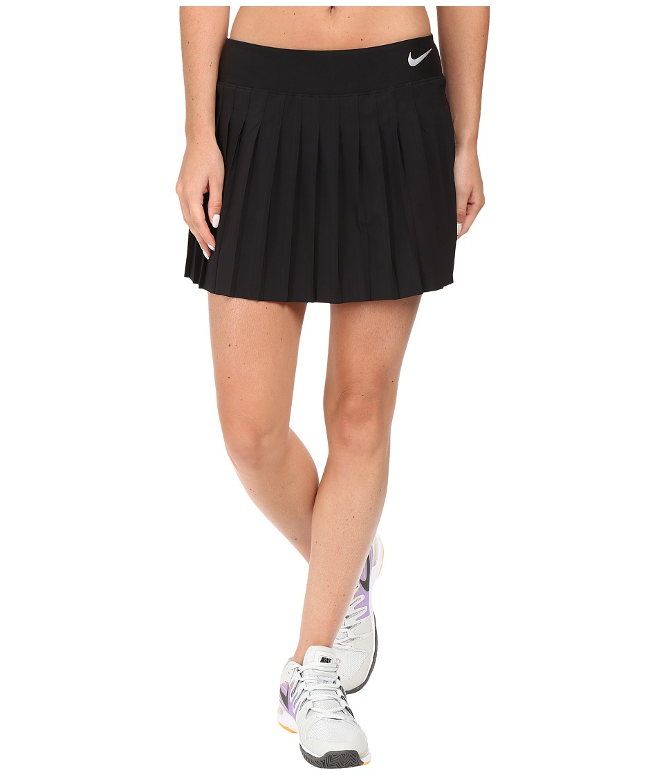 Nike - Victory Skirt (Black/White) Women's Skort