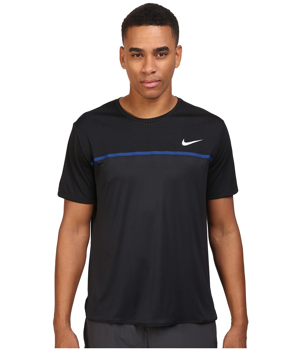 Nike Challenger Crew (Black/Black/Coastal Blue/White) Men