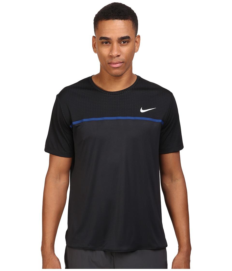 Nike Challenger Crew (Black/Black/Coastal Blue/White) Men