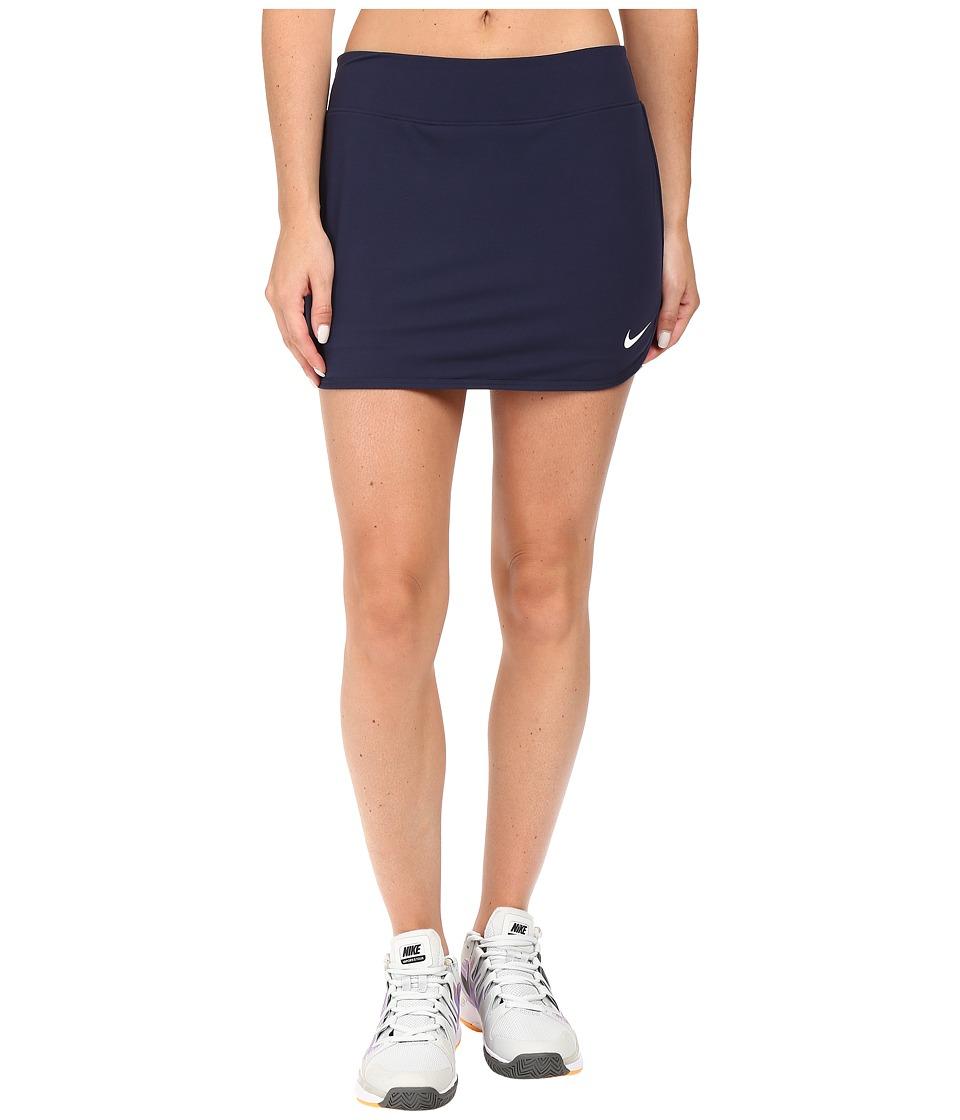Nike - Pure Skirt (Obsidian/Obsidian/White) Women's Skort