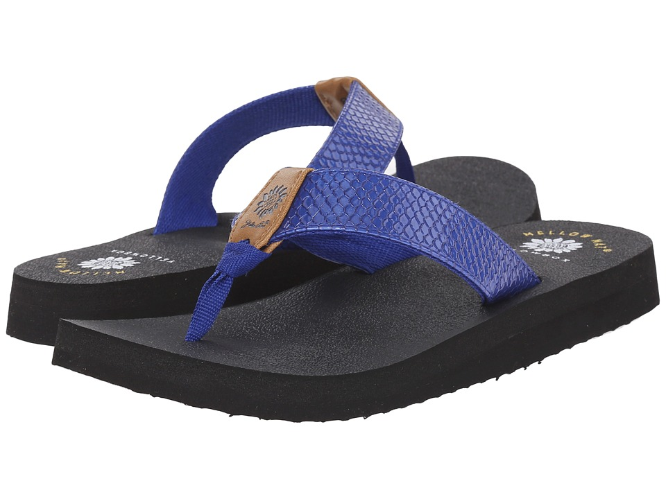 Yellow Box - Bountiful (Blue) Women's Sandals