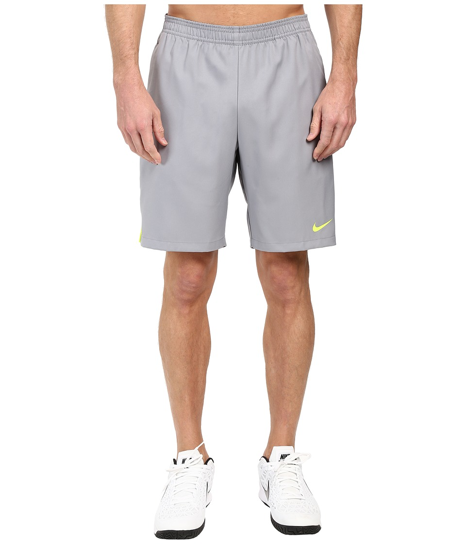Nike - Court 9 Short (Stealth/Volt/Volt) Men's Shorts