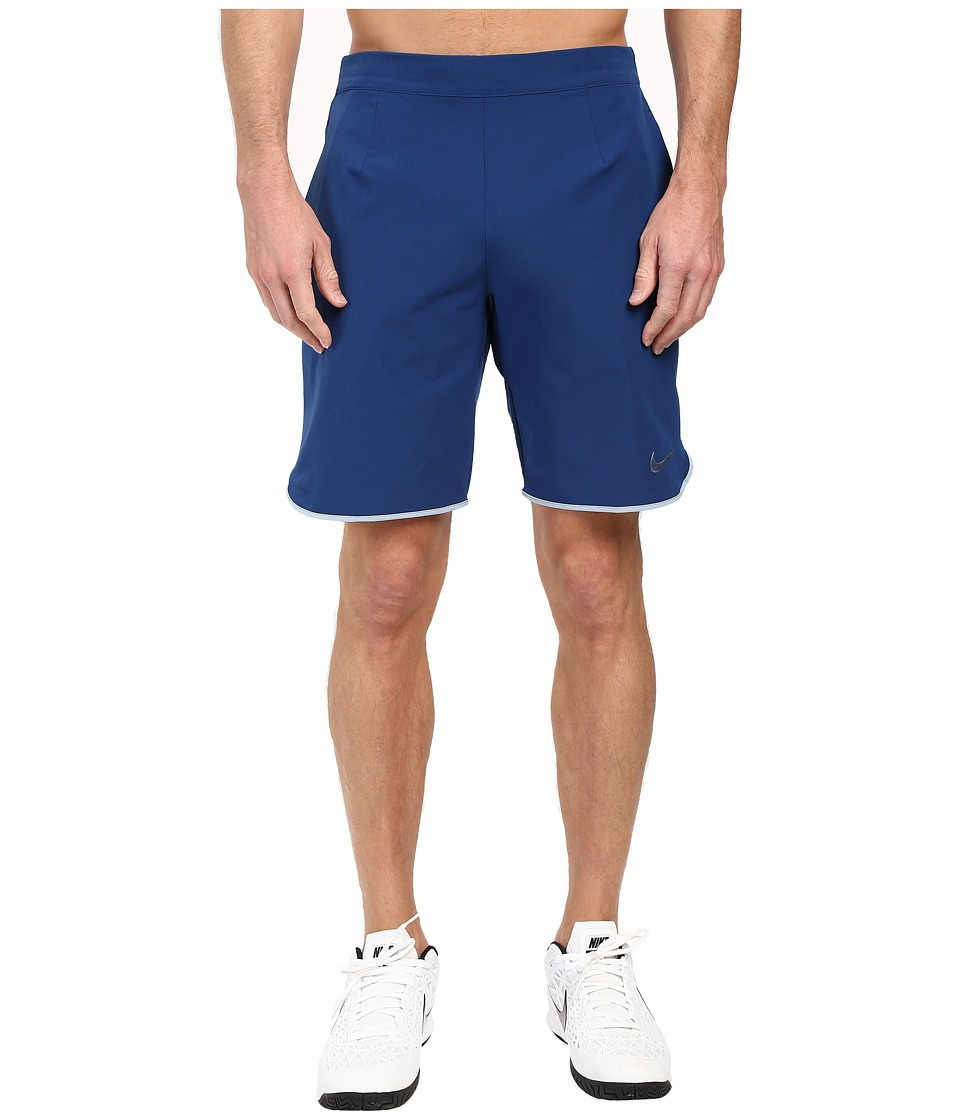 Nike Gladiator 9 Tennis Short (Coastal Blue/Blue Grey/Blue Grey) Men