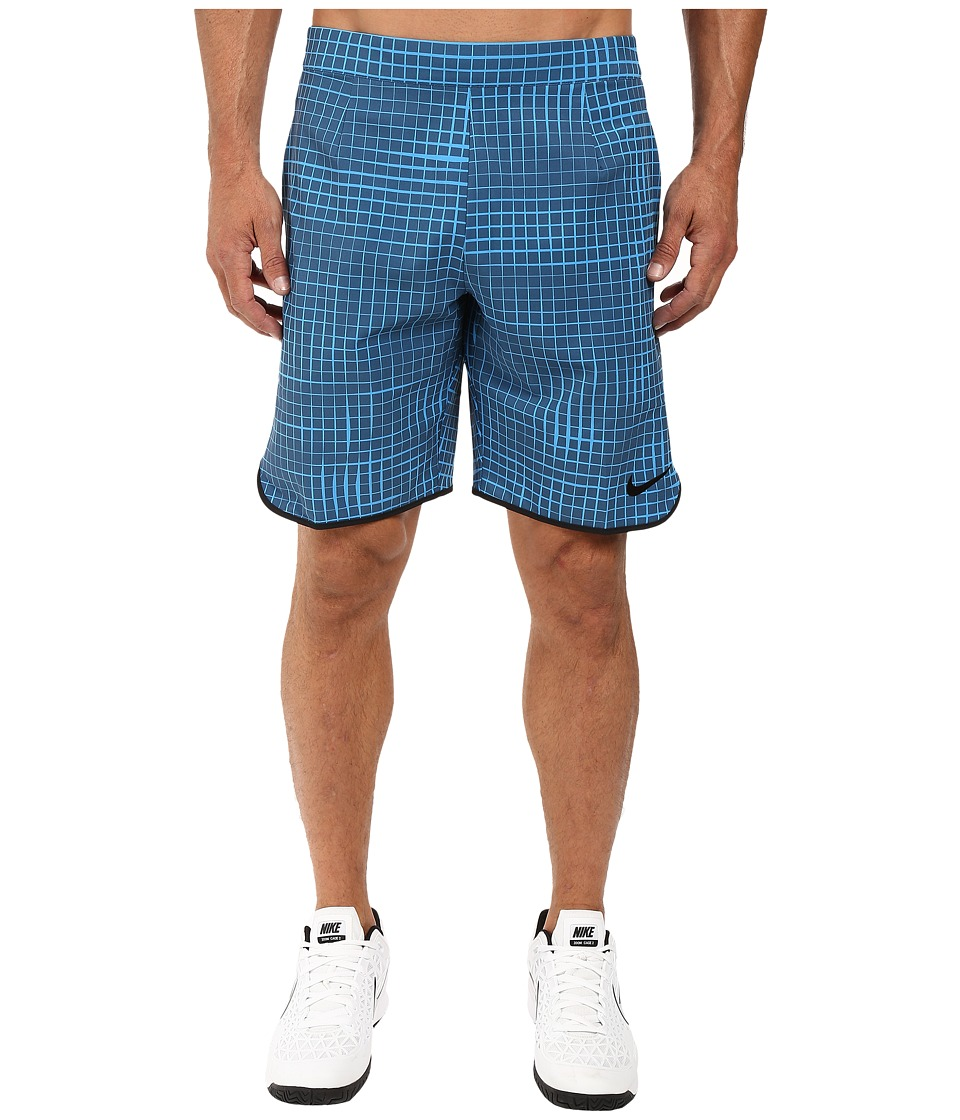 Nike Court Gladiator 9 Tennis Short (Squadron Blue/Black) Men