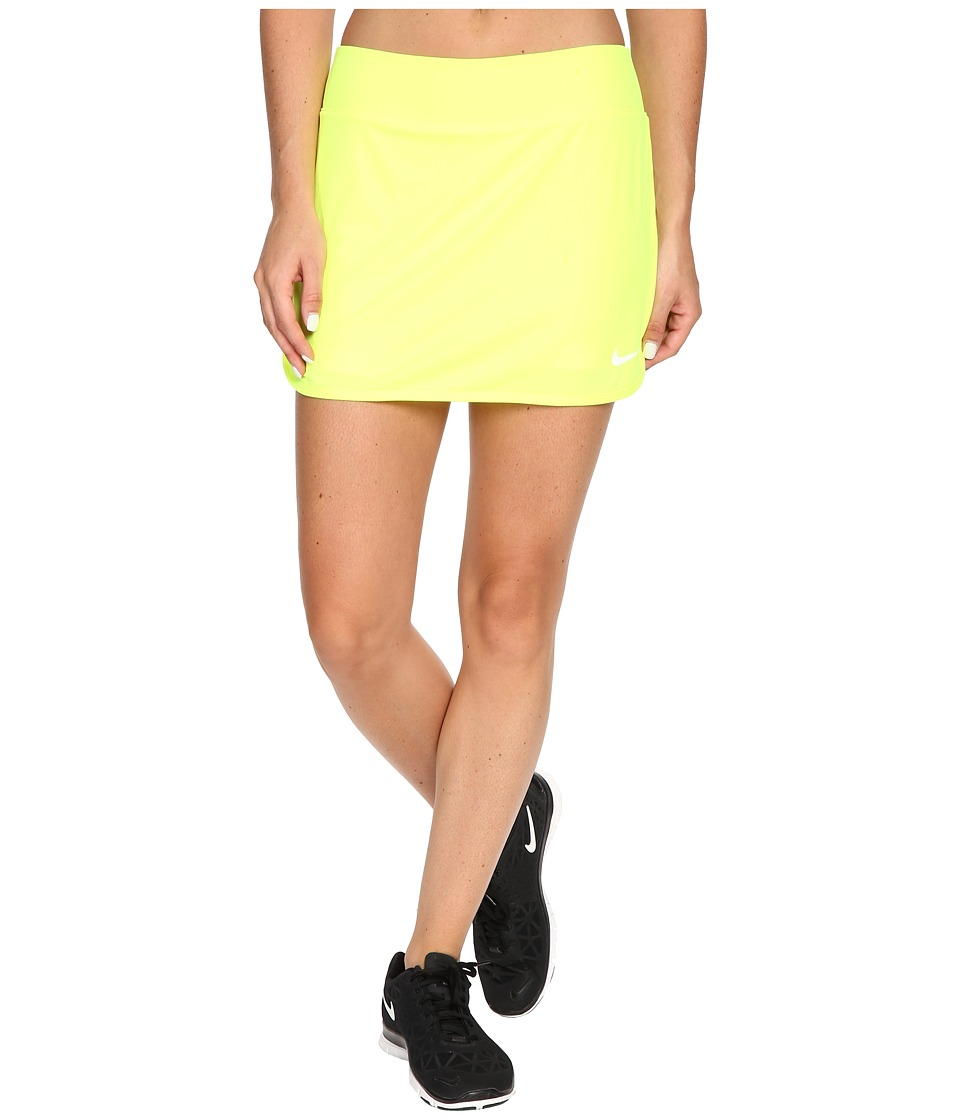 Nike - Pure Skirt (Volt/White) Women's Skort