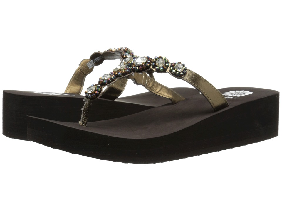 Yellow Box - Ashlea (Bronze) Women's Sandals