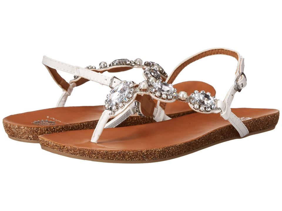 Yellow Box - Aileen (White) Women's Sandals